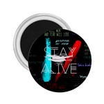 Twenty One Pilots Stay Alive Song Lyrics Quotes 2.25  Magnets Front