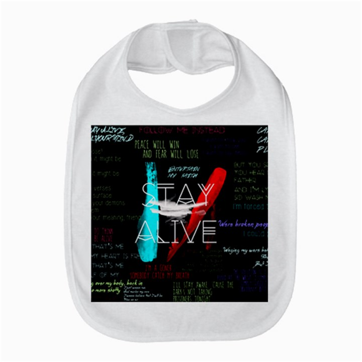 Twenty One Pilots Stay Alive Song Lyrics Quotes Bib