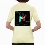 Twenty One Pilots Stay Alive Song Lyrics Quotes Women s Yellow T-Shirt Back