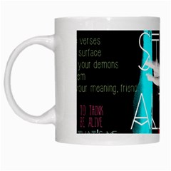 Twenty One Pilots Stay Alive Song Lyrics Quotes White Mugs