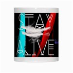 Twenty One Pilots Stay Alive Song Lyrics Quotes White Mugs Center