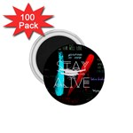 Twenty One Pilots Stay Alive Song Lyrics Quotes 1.75  Magnets (100 pack)  Front