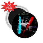 Twenty One Pilots Stay Alive Song Lyrics Quotes 2.25  Magnets (100 pack)  Front