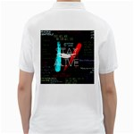 Twenty One Pilots Stay Alive Song Lyrics Quotes Golf Shirts Back