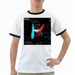 Twenty One Pilots Stay Alive Song Lyrics Quotes Ringer T-Shirts Front