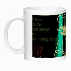 Twenty One Pilots Stay Alive Song Lyrics Quotes Night Luminous Mugs