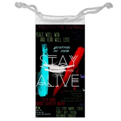 Twenty One Pilots Stay Alive Song Lyrics Quotes Jewelry Bags