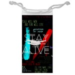 Twenty One Pilots Stay Alive Song Lyrics Quotes Jewelry Bags Front
