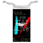 Twenty One Pilots Stay Alive Song Lyrics Quotes Jewelry Bags Back