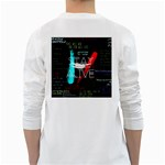 Twenty One Pilots Stay Alive Song Lyrics Quotes White Long Sleeve T-Shirts Back