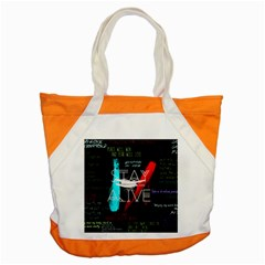 Twenty One Pilots Stay Alive Song Lyrics Quotes Accent Tote Bag
