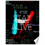 Twenty One Pilots Stay Alive Song Lyrics Quotes Canvas 12  x 16   16 x12 Canvas - 1