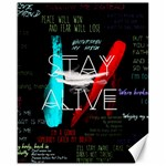 Twenty One Pilots Stay Alive Song Lyrics Quotes Canvas 16  x 20   20 x16 Canvas - 1