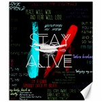 Twenty One Pilots Stay Alive Song Lyrics Quotes Canvas 20  x 24   24 x20 Canvas - 1