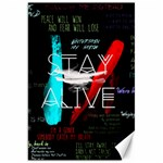 Twenty One Pilots Stay Alive Song Lyrics Quotes Canvas 20  x 30   30 x20 Canvas - 1