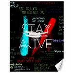 Twenty One Pilots Stay Alive Song Lyrics Quotes Canvas 36  x 48   48 x36 Canvas - 1