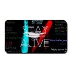 Twenty One Pilots Stay Alive Song Lyrics Quotes Medium Bar Mats 16 x8.5 Bar Mat - 1