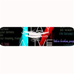 Twenty One Pilots Stay Alive Song Lyrics Quotes Large Bar Mats