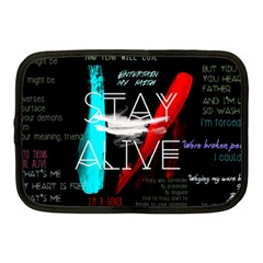 Twenty One Pilots Stay Alive Song Lyrics Quotes Netbook Case (Medium)
