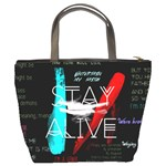 Twenty One Pilots Stay Alive Song Lyrics Quotes Bucket Bags Back