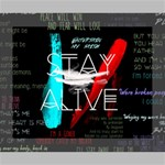 Twenty One Pilots Stay Alive Song Lyrics Quotes Canvas 10  x 8  10  x 8  x 0.875  Stretched Canvas
