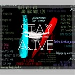 Twenty One Pilots Stay Alive Song Lyrics Quotes Canvas 24  x 20  24  x 20  x 0.875  Stretched Canvas