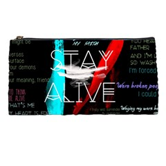 Twenty One Pilots Stay Alive Song Lyrics Quotes Pencil Cases