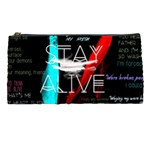 Twenty One Pilots Stay Alive Song Lyrics Quotes Pencil Cases Front