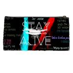 Twenty One Pilots Stay Alive Song Lyrics Quotes Pencil Cases Back