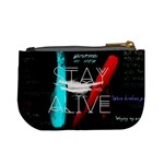 Twenty One Pilots Stay Alive Song Lyrics Quotes Mini Coin Purses Back