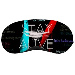 Twenty One Pilots Stay Alive Song Lyrics Quotes Sleeping Masks