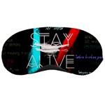 Twenty One Pilots Stay Alive Song Lyrics Quotes Sleeping Masks Front