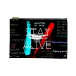 Twenty One Pilots Stay Alive Song Lyrics Quotes Cosmetic Bag (Large)  Front