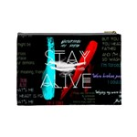 Twenty One Pilots Stay Alive Song Lyrics Quotes Cosmetic Bag (Large)  Back