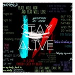 Twenty One Pilots Stay Alive Song Lyrics Quotes Small Memo Pads 3.75 x3.75  Memopad