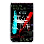Twenty One Pilots Stay Alive Song Lyrics Quotes Memory Card Reader Front