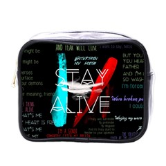 Twenty One Pilots Stay Alive Song Lyrics Quotes Mini Toiletries Bags