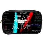 Twenty One Pilots Stay Alive Song Lyrics Quotes Toiletries Bags 2-Side Back