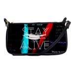 Twenty One Pilots Stay Alive Song Lyrics Quotes Shoulder Clutch Bags Front