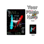 Twenty One Pilots Stay Alive Song Lyrics Quotes Playing Cards 54 (Mini)  Front - SpadeA