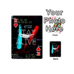 Twenty One Pilots Stay Alive Song Lyrics Quotes Playing Cards 54 (Mini)  Front - HeartK