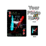 Twenty One Pilots Stay Alive Song Lyrics Quotes Playing Cards 54 (Mini)  Front - Diamond4