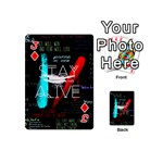 Twenty One Pilots Stay Alive Song Lyrics Quotes Playing Cards 54 (Mini)  Front - DiamondJ