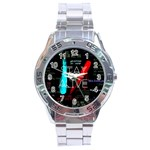Twenty One Pilots Stay Alive Song Lyrics Quotes Stainless Steel Analogue Watch Front