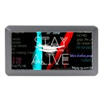 Twenty One Pilots Stay Alive Song Lyrics Quotes Memory Card Reader (Mini) Front