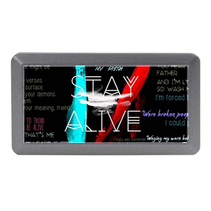 Twenty One Pilots Stay Alive Song Lyrics Quotes Memory Card Reader (Mini)