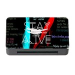 Twenty One Pilots Stay Alive Song Lyrics Quotes Memory Card Reader with CF Front