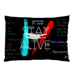 Twenty One Pilots Stay Alive Song Lyrics Quotes Pillow Case (Two Sides) Back