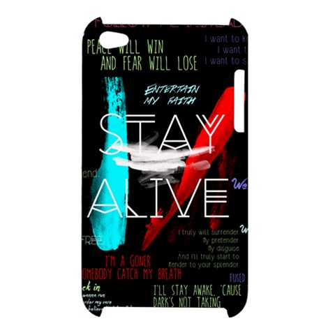 Twenty One Pilots Stay Alive Song Lyrics Quotes Apple iPod Touch 4
