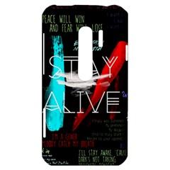 Twenty One Pilots Stay Alive Song Lyrics Quotes HTC Evo 3D Hardshell Case